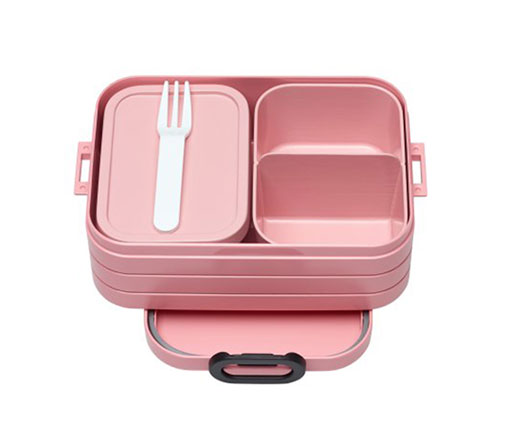 "Mepal Bento Lunchbox ""Take a Break"" midi rosa"