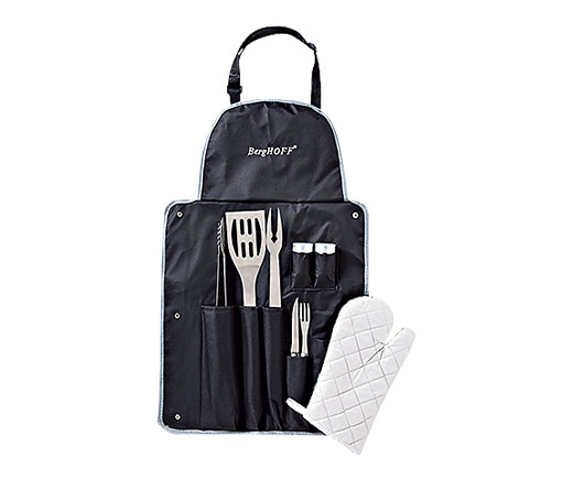 BergHOFF set barbecue avec tablier