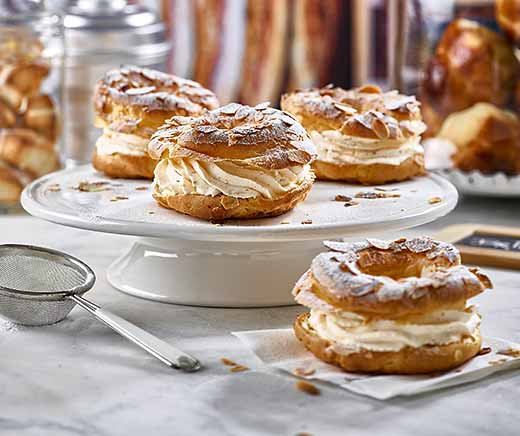 Paris-Brest fourré de pralin noisette