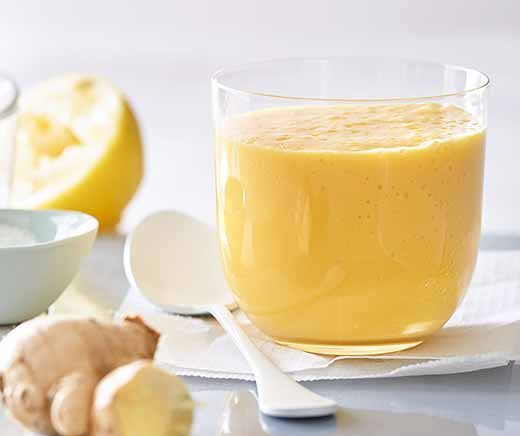 Smoothie mangue-tofu soyeux