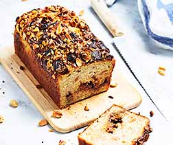 Banana Snickers® Bread