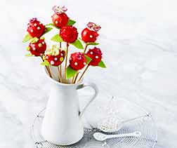 Bouquet de cake pops