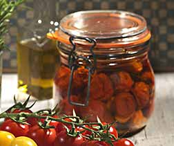 Tomates aux herbes