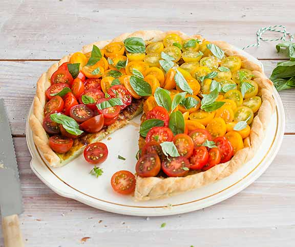 Quiche tomates-fromage