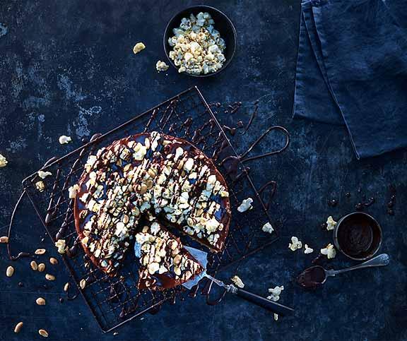 Popcorn Crumble Kuchen Betty Bossi