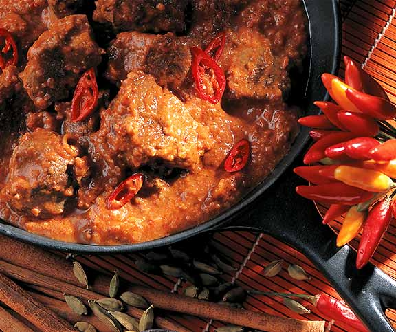 Lammcurry (Gulai Bagar)