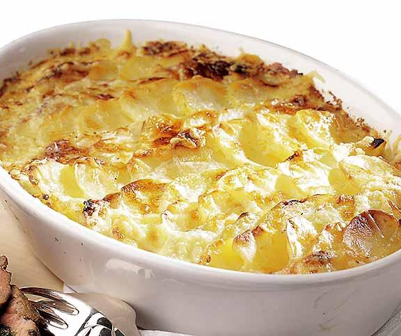 Kohlrabi Kartoffelgratin