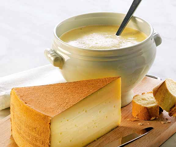 Vacherin-Suppe