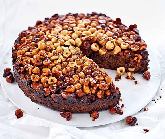 Rezept haselnuss kuchen mit schokolade