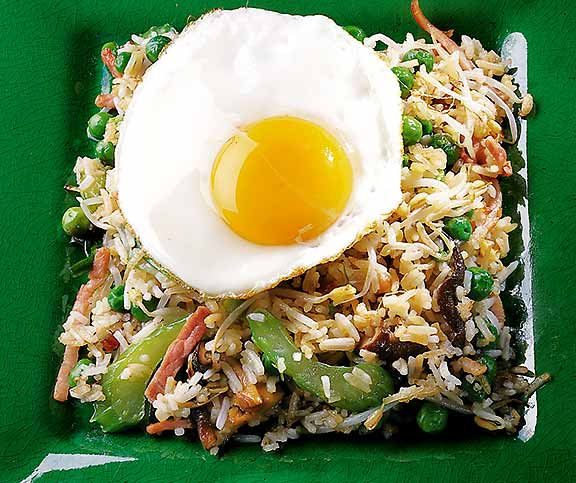 Fried Rice (Gebratener Reis)