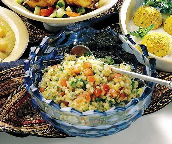 tabbuleh bulgur salat mit tomaten und pfefferminze betty bossi. Black Bedroom Furniture Sets. Home Design Ideas