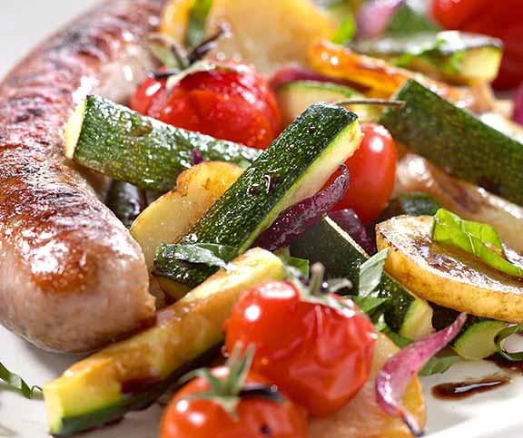 Salade de l gumes grill s betty bossi - Recette legumes grilles au four ...
