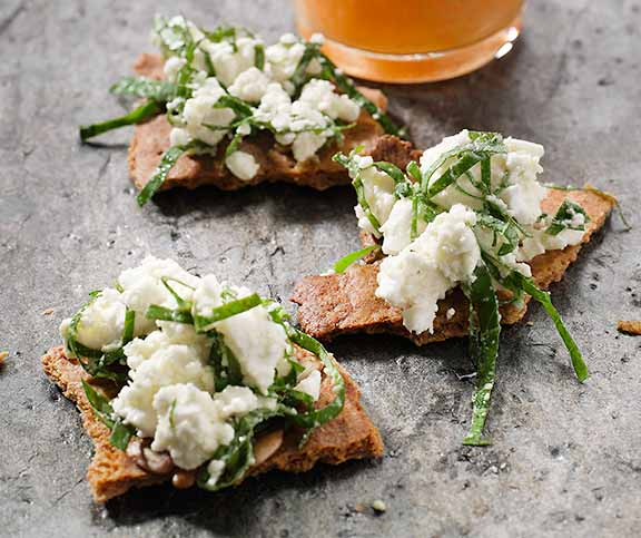 Feta-Crackers