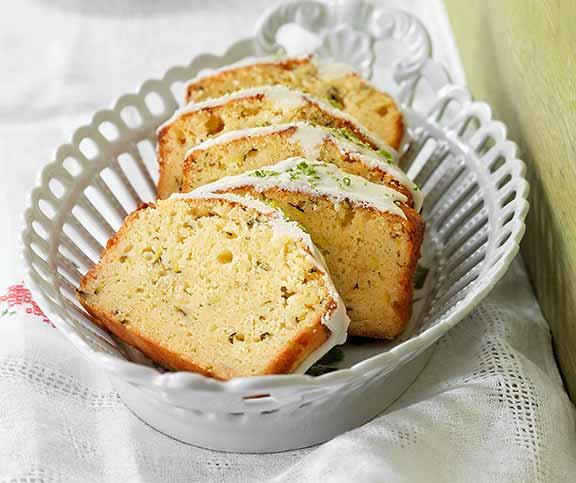 Glutenfreier Limetten Zucchini Cake Betty Bossi