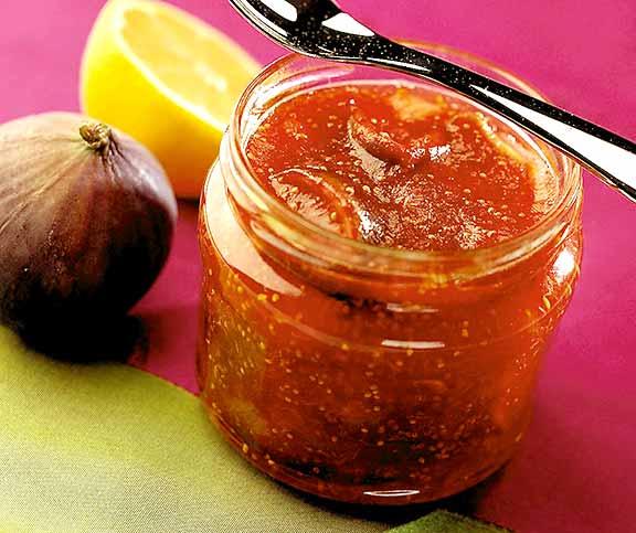 confiture de figues au citron