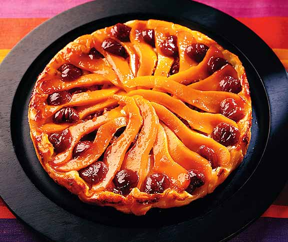 Tatin de courge aux marrons