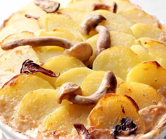 Kartoffel Pilz Gratin Betty Bossi