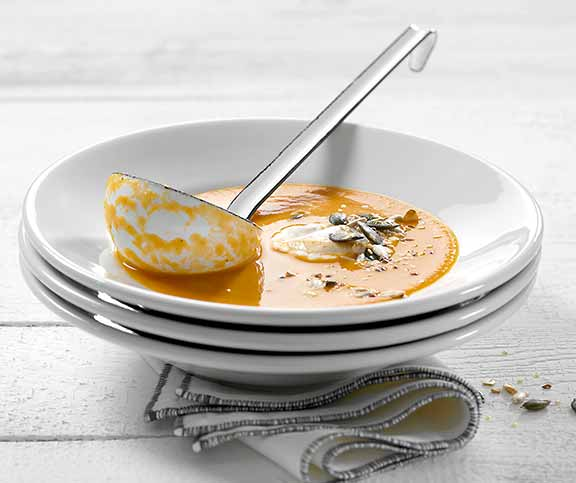 Soupe courge-cannelle