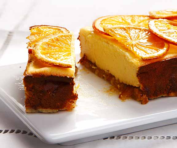 Cheesecake Mit Orangen Betty Bossi