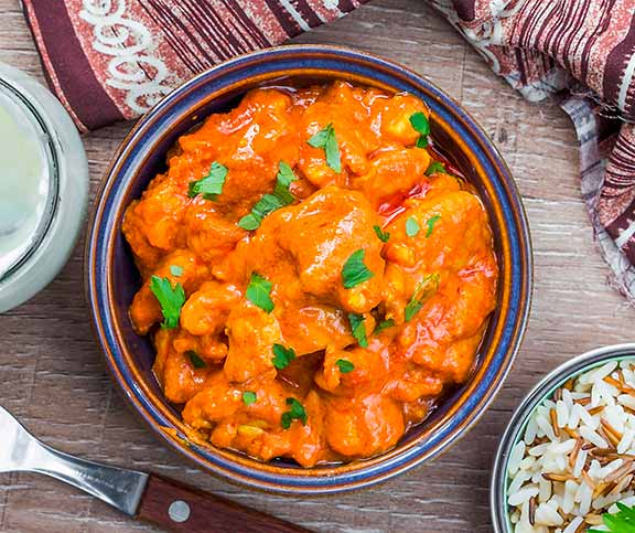 Poulet Sauce Curry Tandoori A Lait De Coco Betty Bossi